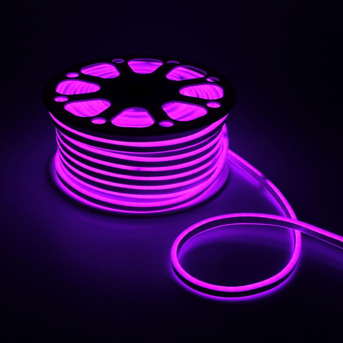 Гирлянда светодиодная Luazon, 120 ламп, 220 V, цвет: сиреневый, 0,8 см х 1,8 см х 50 м. 14312941431294Светодиодные гирлянды, ленты и т.д — это отличный вариант для новогоднего оформления интерьера или фасада. С их помощью помещение любого размера можно превратить в праздничный зал, а внешние элементы зданий, украшенные ими, мгновенно станут напоминать очертания сказочного дворца. Такие украшения создают ауру предвкушения чуда. Деревья, фасады, витрины, окна и арки будто специально созданы, чтобы вы украсили их светящимися нитями.