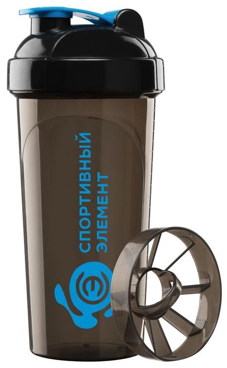 Шейкер спортивный Спортивный элемент Топаз, 700 мл. S02-700 бутылка спортивный элемент s52 2200 2 2l биотит