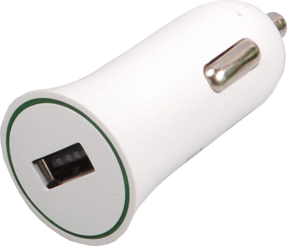 Ritmix RM-112DC, White автомобильное зарядное устройство15119031Ritmix RM-112DC – компактное автомобильное зарядное устройство, имеющее USB-порт. Предназначено для зарядки и подзарядки гаджетов через USB от прикуривателя автомобиля. Имеет световой индикатор заряда и выпускается в двух цветах.