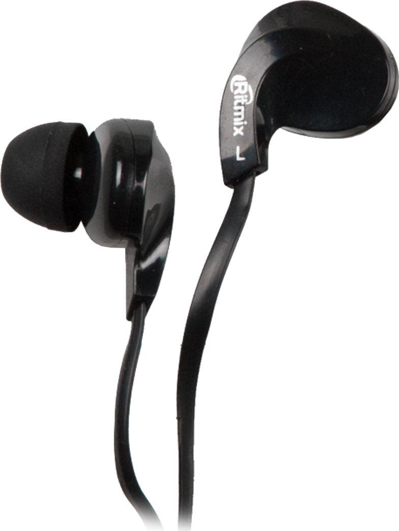 Ritmix RH-025, Black наушники15119352Ritmix RH-025 – это портативные наушники-вкладыши с плоским кабелем в эргономичном дизайне. Предназначены для использования с телефонами, планшетами и MP3- плеерами. Модель представлена в трёх цветах: чёрном, голубом и белом.