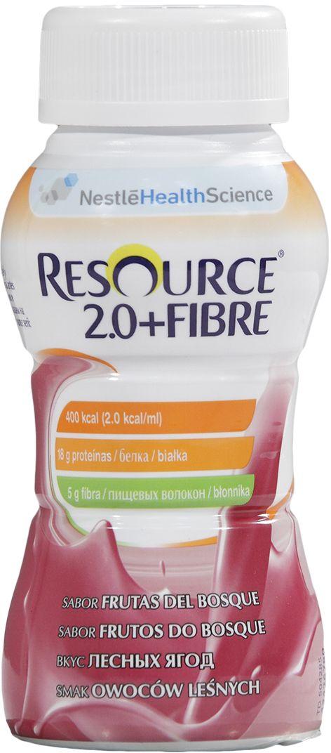 Resource 2.0+Fibre Продукт диетического профилактического питания, высококалорийная смесь с пищевыми волокнами со вкусом лесных ягод, 4 х 200 мл portney current issues in u s natural resource policy