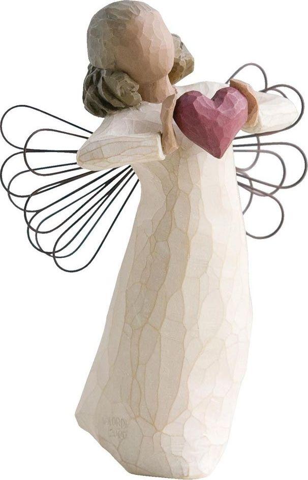 Фигурка Willow Tree С любовью, высота 13,5 см26182Декоративная фигурка Willow Tree создана канадским скульптором Сьюзан Лорди. Фигурка выполнена из искусственного камня (49% карбонат кальция мелкозернистой разновидности, 51% искусственный камень).Фигурка Willow Tree – это настоящее произведение искусства, образная скульптура в миниатюре, изображающая эмоции и чувства, которые помогают чувствовать себя ближе к другим, верить в мечту, выражать любовь.Фигурка помещена в красивую упаковку.Купить такой оригинальный подарок, значит не только украсить интерьер помещения или жилой комнаты, но выразить свое глубокое отношение к любимому человеку. Этот прекрасный сувенир будет лучшим подарком на день ангела, именины, день рождения, юбилей.
