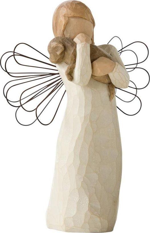 Фигурка Willow Tree Ангел дружбы, высота 13 см26011Эти прекрасные фигурки созданы канадским скульптором Сьюзан Лорди.Каждая фигурка – это настоящее произведение искусства, образная скульптура в миниатюре, изображающая эмоции и чувства, которые помогают нам чувствовать себя ближе к другим, верить в мечту, выражать любовь. Фигурка помещена в красивую упаковку. Купить такой оригинальный подарок, значит не только украсить интерьер помещения или жилой комнаты, но выразить свое глубокое отношение к любимому человеку. Этот прекрасный сувенир будет лучшим подарком на день ангела, именины, день рождения, юбилей.