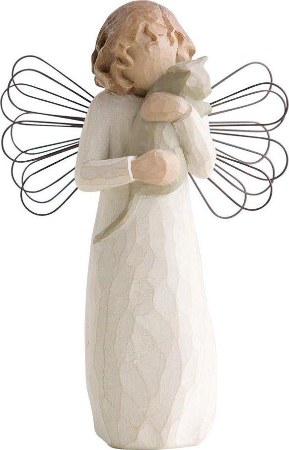 Фигурка Willow Tree Ангел умиления, высота 13 см26109Эти прекрасные фигурки созданы канадским скульптором Сьюзан Лорди.Каждая фигурка – это настоящее произведение искусства, образная скульптура в миниатюре, изображающая эмоции и чувства, которые помогают нам чувствовать себя ближе к другим, верить в мечту, выражать любовь. Фигурка помещена в красивую упаковку. Купить такой оригинальный подарок, значит не только украсить интерьер помещения или жилой комнаты, но выразить свое глубокое отношение к любимому человеку. Этот прекрасный сувенир будет лучшим подарком на день ангела, именины, день рождения, юбилей.