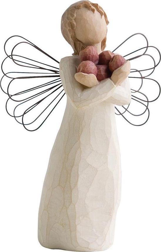 Фигурка Willow Tree Ангел здоровья, высота 13,5 см26123Эти прекрасные фигурки созданы канадским скульптором Сьюзан Лорди.Каждая фигурка – это настоящее произведение искусства, образная скульптура в миниатюре, изображающая эмоции и чувства, которые помогают нам чувствовать себя ближе к другим, верить в мечту, выражать любовь. Фигурка помещена в красивую упаковку. Купить такой оригинальный подарок, значит не только украсить интерьер помещения или жилой комнаты, но выразить свое глубокое отношение к любимому человеку. Этот прекрасный сувенир будет лучшим подарком на день ангела, именины, день рождения, юбилей.