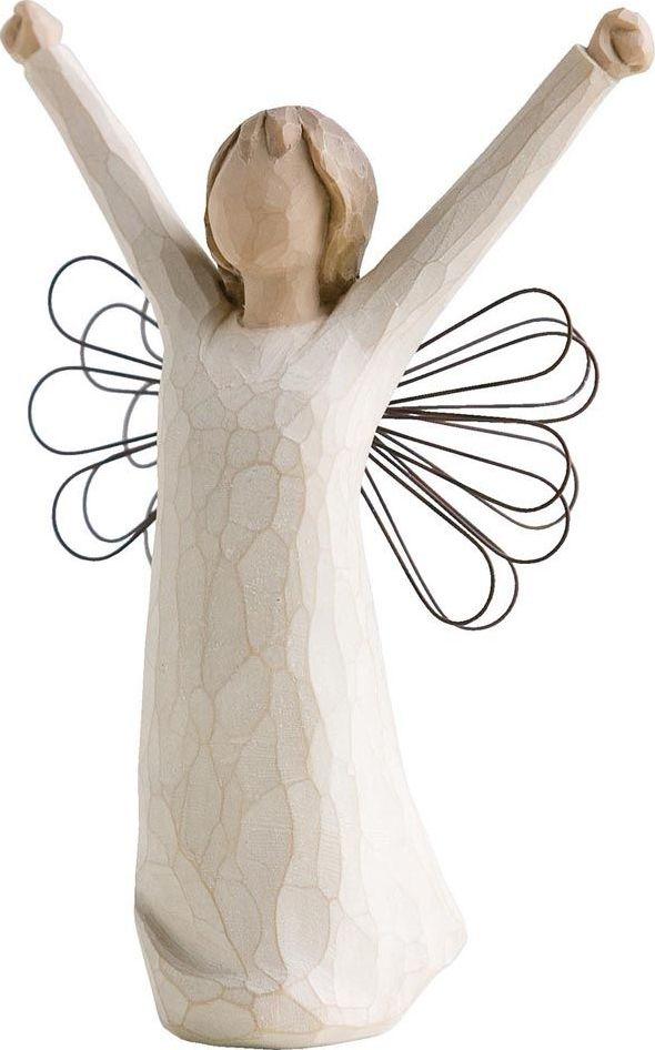 Фигурка Willow Tree Ангел мужества, высота 14,5 см26149Декоративная фигурка Willow Tree создана канадским скульптором Сьюзан Лорди. Фигурка выполнена из искусственного камня (49% карбонат кальция мелкозернистой разновидности, 51% искусственный камень).Фигурка Willow Tree – это настоящее произведение искусства, образная скульптура в миниатюре, изображающая эмоции и чувства, которые помогают чувствовать себя ближе к другим, верить в мечту, выражать любовь.Фигурка помещена в красивую упаковку.Купить такой оригинальный подарок, значит не только украсить интерьер помещения или жилой комнаты, но выразить свое глубокое отношение к любимому человеку. Этот прекрасный сувенир будет лучшим подарком на день ангела, именины, день рождения, юбилей.