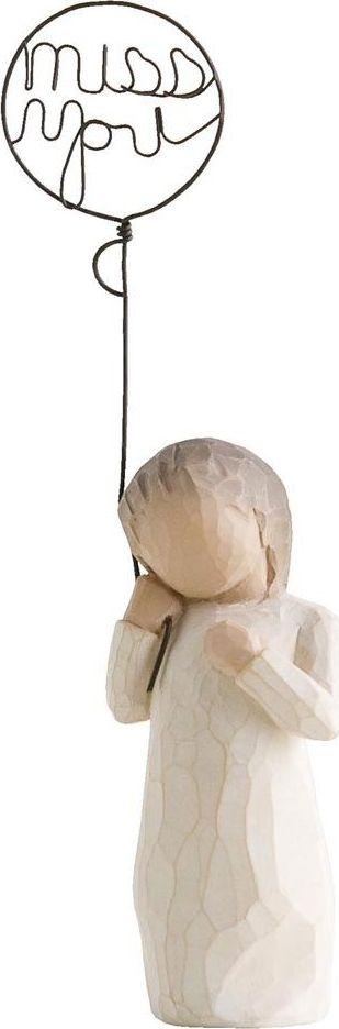 Фигурка Willow Tree Скучаю по тебе, высота 14 см26183Декоративная фигурка Willow Tree создана канадским скульптором Сьюзан Лорди. Фигурка выполнена из искусственного камня (49% карбонат кальция мелкозернистой разновидности, 51% искусственный камень).Фигурка Willow Tree – это настоящее произведение искусства, образная скульптура в миниатюре, изображающая эмоции и чувства, которые помогают чувствовать себя ближе к другим, верить в мечту, выражать любовь.Фигурка помещена в красивую упаковку.Купить такой оригинальный подарок, значит не только украсить интерьер помещения или жилой комнаты, но выразить свое глубокое отношение к любимому человеку. Этот прекрасный сувенир будет лучшим подарком на день ангела, именины, день рождения, юбилей.
