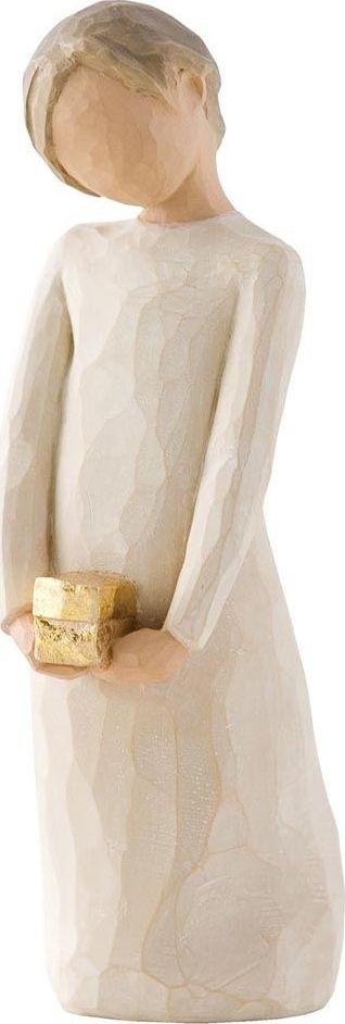 Фигурка Willow Tree Дух щедрости, высота 12,5 см26221Эти прекрасные фигурки созданы канадским скульптором Сьюзан Лорди.Каждая фигурка – это настоящее произведение искусства, образная скульптура в миниатюре, изображающая эмоции и чувства, которые помогают нам чувствовать себя ближе к другим, верить в мечту, выражать любовь. Фигурка помещена в красивую упаковку. Купить такой оригинальный подарок, значит не только украсить интерьер помещения или жилой комнаты, но выразить свое глубокое отношение к любимому человеку. Этот прекрасный сувенир будет лучшим подарком на день ангела, именины, день рождения, юбилей.