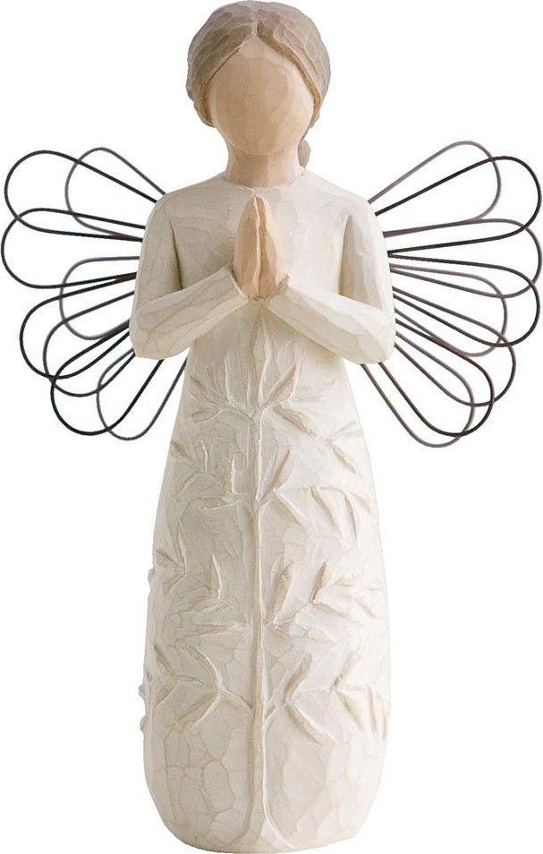 Фигурка Willow Tree Молитва, высота 14 см26170Декоративная фигурка Willow Tree создана канадским скульптором Сьюзан Лорди. Фигурка выполнена из искусственного камня (49% карбонат кальция мелкозернистой разновидности, 51% искусственный камень).Фигурка Willow Tree – это настоящее произведение искусства, образная скульптура в миниатюре, изображающая эмоции и чувства, которые помогают чувствовать себя ближе к другим, верить в мечту, выражать любовь.Фигурка помещена в красивую упаковку.Купить такой оригинальный подарок, значит не только украсить интерьер помещения или жилой комнаты, но выразить свое глубокое отношение к любимому человеку. Этот прекрасный сувенир будет лучшим подарком на день ангела, именины, день рождения, юбилей.