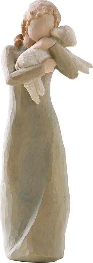 Фигурка Willow Tree Мир на Земле, высота 21 см26104Эти прекрасные фигурки созданы канадским скульптором Сьюзан Лорди.Каждая фигурка – это настоящее произведение искусства, образная скульптура в миниатюре, изображающая эмоции и чувства, которые помогают нам чувствовать себя ближе к другим, верить в мечту, выражать любовь. Фигурка помещена в красивую упаковку. Купить такой оригинальный подарок, значит не только украсить интерьер помещения или жилой комнаты, но выразить свое глубокое отношение к любимому человеку. Этот прекрасный сувенир будет лучшим подарком на день ангела, именины, день рождения, юбилей.