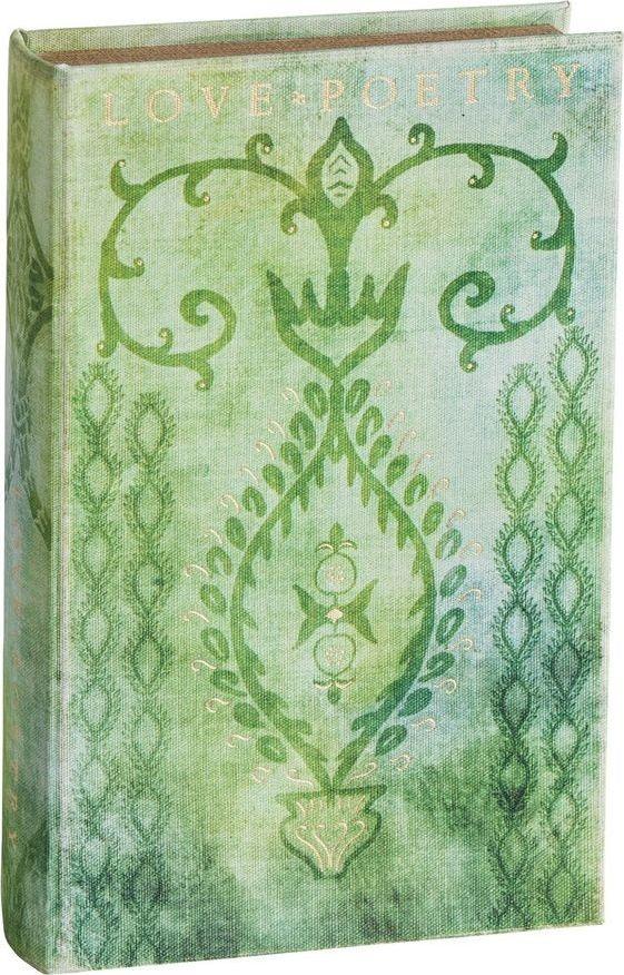 Декоративная книга-шкатулка Willow Tree Любовь к поэзии, 26 х 16,5 х 5 см27431Эта декоративная книга-шкатулка созданы канадским скульптором Сьюзан Лорди.Каждая шкатулка – это настоящее произведение искусства, образная скульптура в миниатюре, изображающая эмоции и чувства, которые помогают нам чувствовать себя ближе к другим, верить в мечту, выражать любовь. Она помещена в красивую упаковку. Купить такой оригинальный подарок, значит не только украсить интерьер помещения или жилой комнаты, но выразить свое глубокое отношение к любимому человеку. Этот прекрасный сувенир будет лучшим подарком на день ангела, именины, день рождения, юбилей.