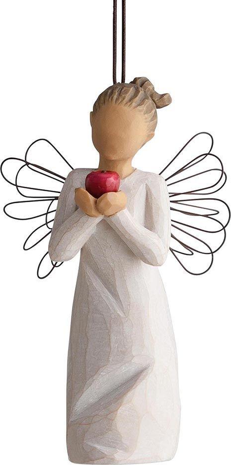 Фигурка с подвеской Willow Tree Ты лучший, высота 11,5 см27468Декоративная фигурка Willow Tree создана канадским скульптором Сьюзан Лорди. Фигурка выполнена из искусственного камня (49% карбонат кальция мелкозернистой разновидности, 51% искусственный камень).Фигурка Willow Tree – это настоящее произведение искусства, образная скульптура в миниатюре, изображающая эмоции и чувства, которые помогают чувствовать себя ближе к другим, верить в мечту, выражать любовь.Фигурка помещена в красивую упаковку.Купить такой оригинальный подарок, значит не только украсить интерьер помещения или жилой комнаты, но выразить свое глубокое отношение к любимому человеку. Этот прекрасный сувенир будет лучшим подарком на день ангела, именины, день рождения, юбилей.