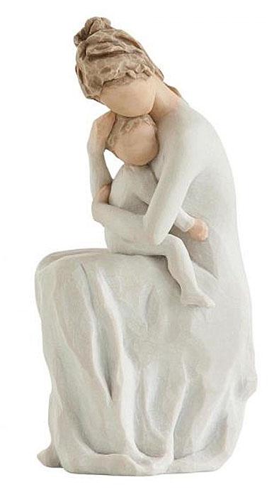 Фигурка Willow Tree Навсегда, высота 17,5 см27596Эти прекрасные фигурки созданы канадским скульптором Сьюзан Лорди.Каждая фигурка – это настоящее произведение искусства, образная скульптура в миниатюре, изображающая эмоции и чувства, которые помогают нам чувствовать себя ближе к другим, верить в мечту, выражать любовь. Фигурка помещена в красивую упаковку. Купить такой оригинальный подарок, значит не только украсить интерьер помещения или жилой комнаты, но выразить свое глубокое отношение к любимому человеку. Этот прекрасный сувенир будет лучшим подарком на день ангела, именины, день рождения, юбилей.