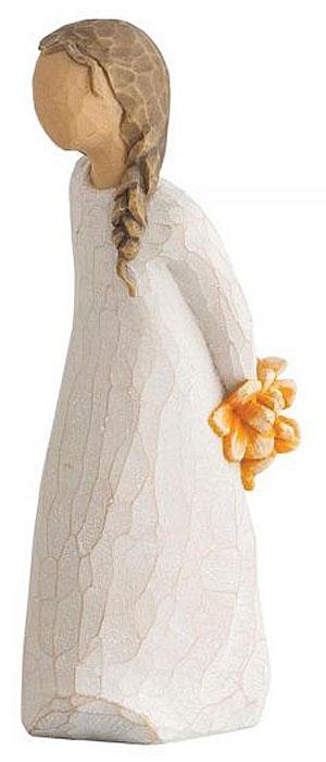 Фигурка Willow Tree Для тебя, высота 13,5 см27672Эти прекрасные фигурки созданы канадским скульптором Сьюзан Лорди.Каждая фигурка – это настоящее произведение искусства, образная скульптура в миниатюре, изображающая эмоции и чувства, которые помогают нам чувствовать себя ближе к другим, верить в мечту, выражать любовь. Фигурка помещена в красивую упаковку. Купить такой оригинальный подарок, значит не только украсить интерьер помещения или жилой комнаты, но выразить свое глубокое отношение к любимому человеку. Этот прекрасный сувенир будет лучшим подарком на день ангела, именины, день рождения, юбилей.