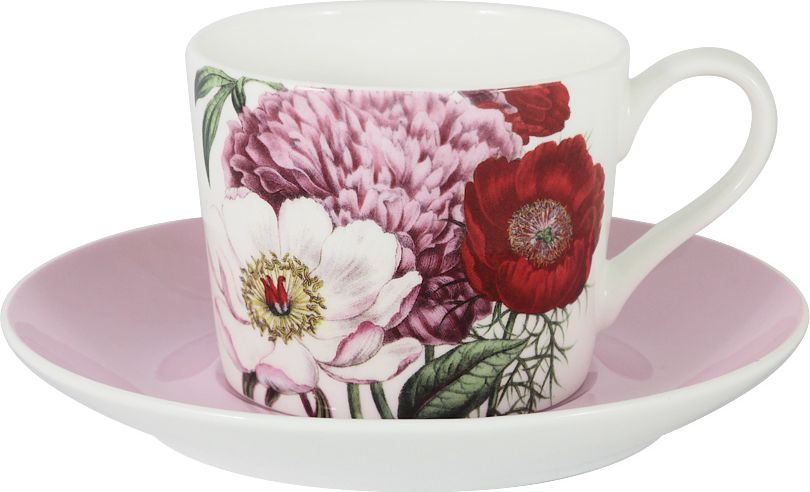Чайная пара Anna Lafarg Stechcol Лаура, цвет: розовый, 250 мл, 2 предмета3720Чайная пара Anna Lafarg Stechcol Лаура выполнена из фарфора.Оригинальный яркий дизайн, несомненно, придется вам по вкусу. Чайная пара Anna Lafarg Stechcol Лаура украсит ваш кухонный стол, атакже станет замечательным подарком к любому празднику.