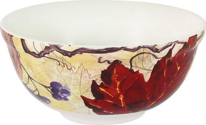 Салатник Imari Кленовый лист, 13 смIM45018-A2351Салатник Imari Кленовый лист выполнен из высококачественной керамики, основным ингредиентом которой является твердый доломит. Изделие легкое, белоснежное, прочное и устойчивое к высоким температурам. Нанесение сверкающей глазури, не содержащей свинца, придает изделию превосходный блеск и особую прочность.Высокое качество достигается не только благодаря использованию особого сырья, новейших технологий и оборудования, но также благодаря строгому контролю на всех этапах производственного процесса.Изделие декорировано красочным изображением. Такой салатник отлично подойдет для сервировки салатов, закусок, солений, соусов. Он оригинально дополнит сервировку стола и станет практичным приобретением для кухни.Высокое качество исходного сырья и глазури позволяет мыть изделие в посудомоечной машине.