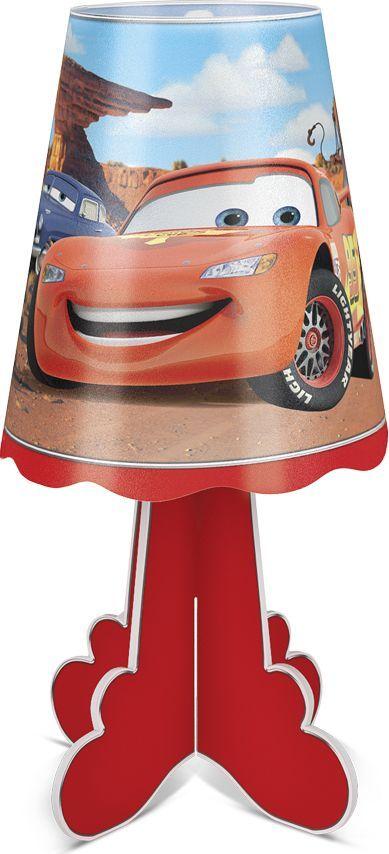 Фотон Ночник настольный Disney Тачки22978Настольный ночник с ярким дизайном и изображением популярных персонажей анимационного фильма студии Disney/Pixar Тачки станет идеальным подарком для мальчика. Приятный теплый свет создаст атмосферу уюта в детской комнате. Светильник не нагревается в процессе работы, включается и выключается одной кнопкой. Под вашим присмотром ребенок сможет самостоятельно собрать ночничок, что способствует развитию мелкой моторики и навыков конструирования. Декоративный ночник представляет собой сборную конструкцию из легких материалов (ПВХ, картон), которая собирается и разбирается по принципу пазла. В каждую упаковку входит ночник в разобранном виде и световой элемент в виде электронной свечи с батарейками. Световой элемент может использоваться отдельно от ночника. Абажур ночника после распаковки необходимо предварительно распрямить. Подробная инструкция по сборке ночника и замене батареек указана на тыльной стороне упаковки.