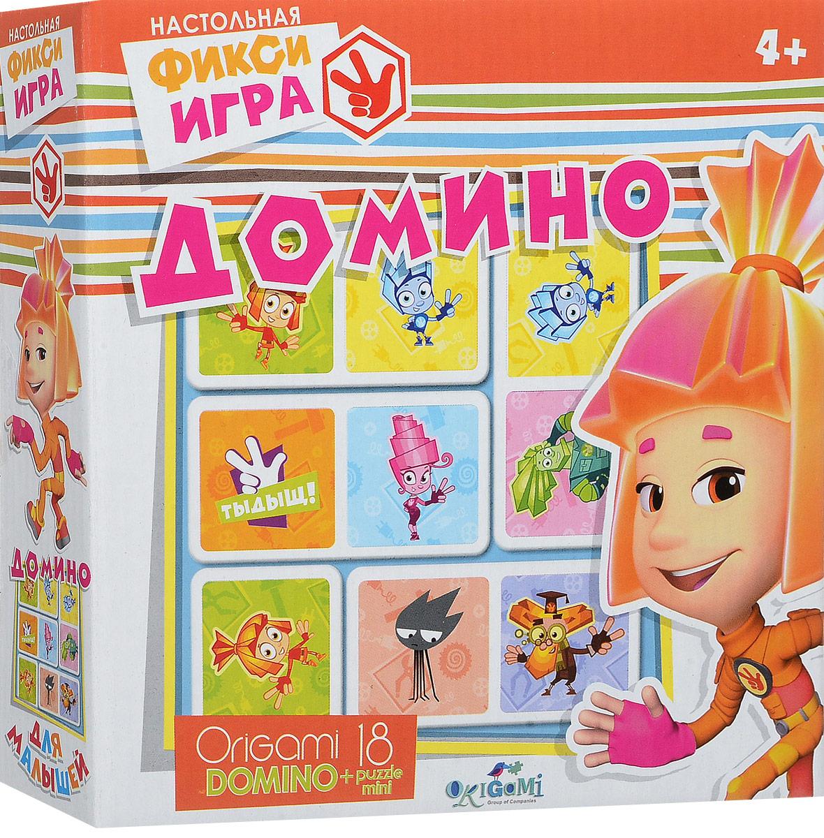 Фиксики Домино + пазл фиксики настольная игра поле пазл тыдыщь в подарок мини пазл 20 элементов фиксики