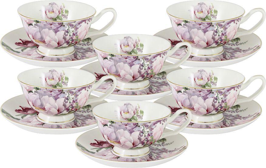 Сервиз чайный Anna Lafarg Stechcol Райский сад, 12 предметов наборы для чаепития stechcol чайный набор на 2 перс викторианская леди stechcol