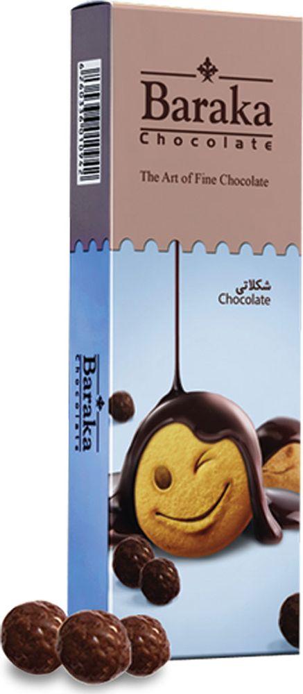 Baraka Бисквитные шарики в молочном шоколаде, 100 г футболка в полоску baraka