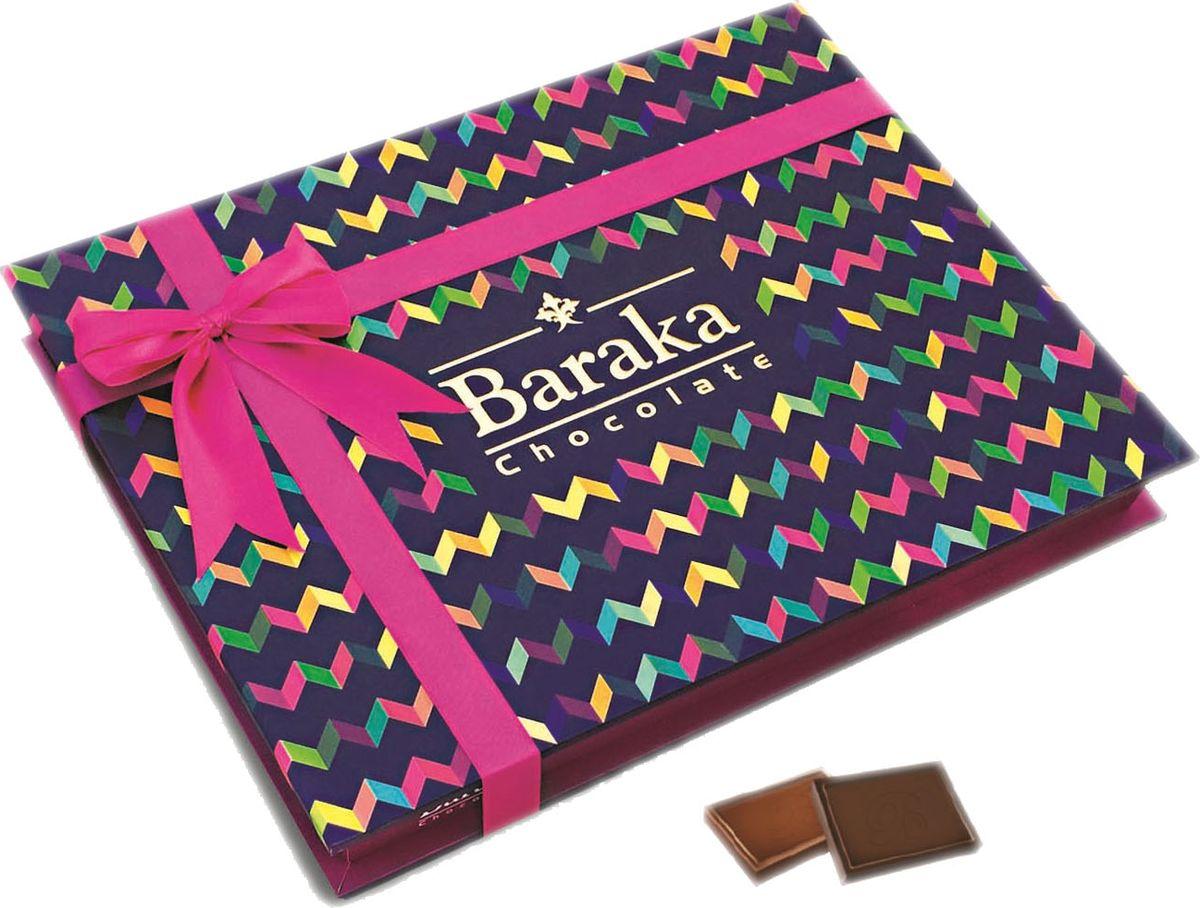 Baraka Семицвет ассорти шоколадных конфет, 200 г7.23.22Мини-плитки из темного и молочного шоколада.