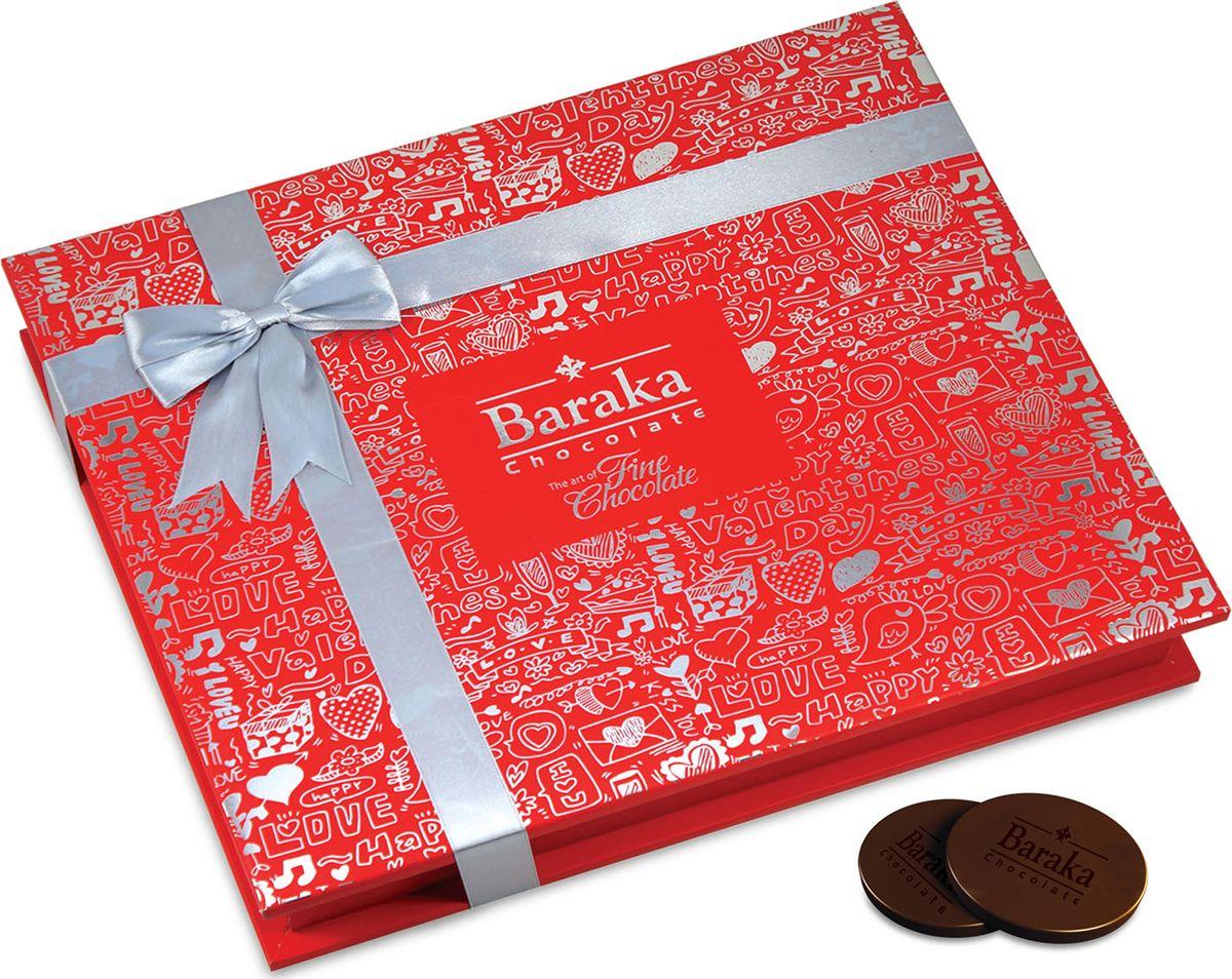 Baraka Лайф ассорти шоколадных конфет, 250 г футболка в полоску baraka
