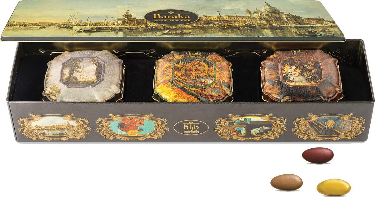 Baraka Венеция набор трюфелей с цельным орехом, 300 г футболка в полоску baraka