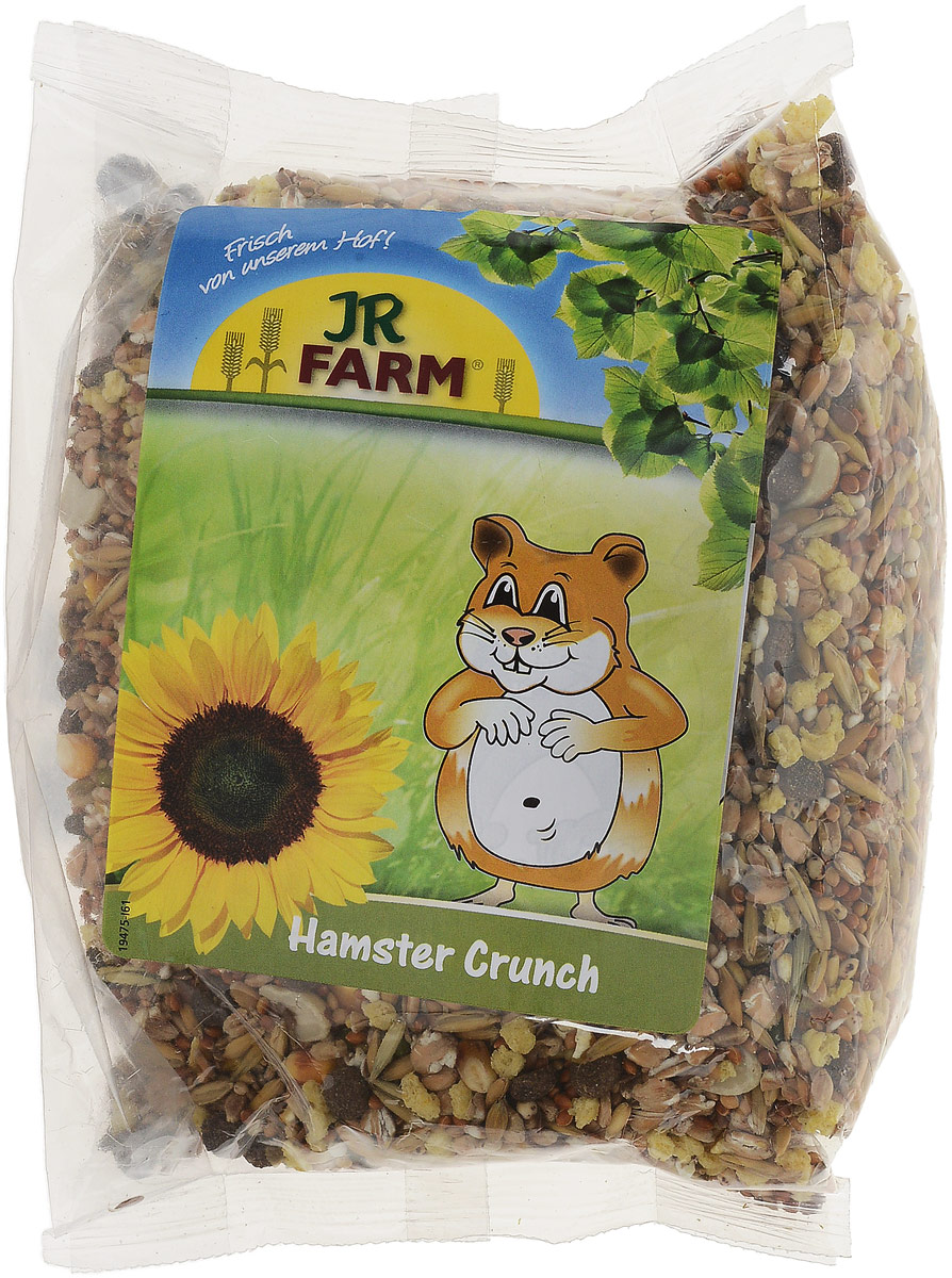 Корм для хомяков JR Farm Crunch, 500 г crunch 223b инструкция