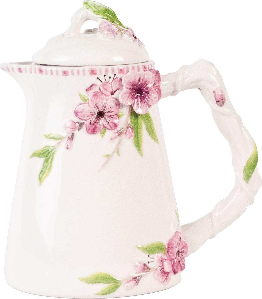 Чайник заварочный Fitz and Floyd Цветущая сакура, 700 мл20-608Чайник 0,7л Материал - керамика, расписанная вручнуюРекомендуется бережная ручная мойка с использованием безабразивных моющих средств
