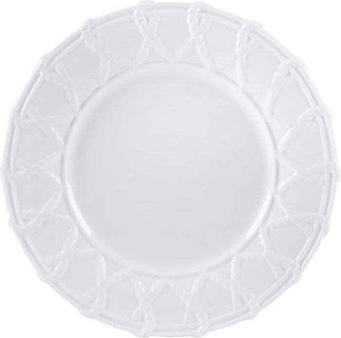 Тарелка Fitz and Floyd Шервуд, 22 см20-781Тарелка 22см Материал - фарфорДопустимо использование в микроволновой печи, духовке и посудомоечной машине.