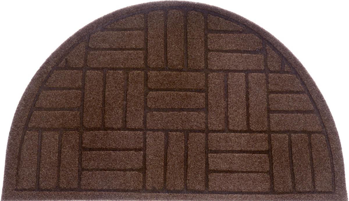 Коврик придверный EFCO Оскар. Паркет, цвет: коричневый, 65 х 40 см22379Оригинальный придверный коврик EFCO Оскар. Паркет надежнозащитит помещение от уличной пыли и грязи. Изделиевыполнено из 100% полипропилена, основа - латекс.Такой коврик сохранит привлекательный внешний вид надолгое время, а благодаря латексной основе, он легко чиститсяи моется.