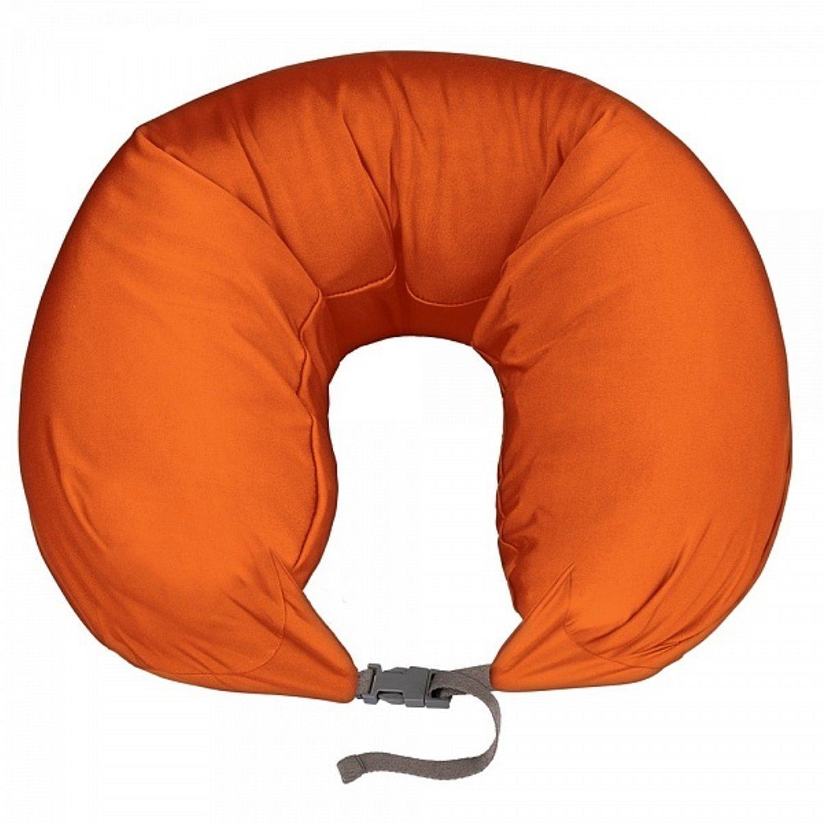 Подушка для шеи Woodsurf  La Siesta , массажная, USB, цвет: оранжевый - Подушки