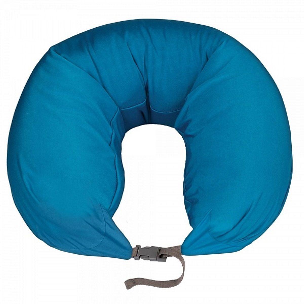 Подушка для шеи Woodsurf  La Siesta , массажная, USB, цвет: бирюзовый - Подушки