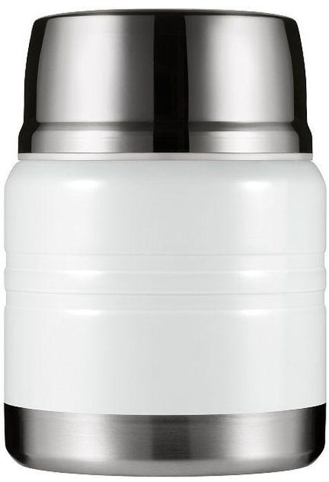 Термос для еды Woodsurf Lunch Spot, цвет: белый, 350 млLSVJ350-02Термос для еды LUNCH SPOT, цвета белый металлик на 350 мл. Вместительный, стильный и герметичный - он точно пригодится Вам во время долгой прогулки, учебного или рабочего дня. Термос для еды сохранит Вашу пищу теплой и свежей, а для удобства пользования в комплекте к нему идет маленькая ложечка. Все прокладки выполнены из высокотемпературного пищевого силикона. Крышка нетоксична, поскольку изготовлена из пищевого пластика BPA FREE. Фирменный штамп Woodsurf на дне термоса свидетельствует о подлинности продукции.В условиях помещения с температурой +23 по Цельсию вода, нагретая до 97 градусов, за 2 часа остынет до 72 градусов, за 6 часов - до 52.Характеристики: размеры в упаковке: 11,7 х 17,0 х 11,7 см; объем: 350 мл; диаметр: 9,3 см; диаметр горловины: 6,9 см.Вес: 0,484 кг. Упаковка: гофрированный картон.