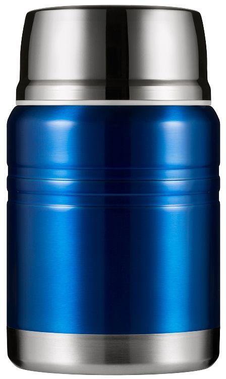 Термос для еды Woodsurf Lunch Spot, цвет: синий, 500 млLSVJ500-01Вместительный, стильный и герметичный термос Woodsurf Lunch Spot точно пригодится вам во время долгой прогулки, учебного или рабочего дня. Термос для еды сохранит вашу пищу теплой и свежей, а для удобства пользования в комплекте к нему идет маленькая ложечка. Все прокладки выполнены из высокотемпературного пищевого силикона. Крышка нетоксична, поскольку изготовлена из пищевого пластика BPA FREE. Фирменный штамп Woodsurf на дне термоса свидетельствует о подлинности продукции.В условиях помещения с температурой +23°С вода, нагретая до 97°С, за 2 часа остынет до 72°С, за 6 часов - до 52°С.Характеристики: - объем: 500 мл; - диаметр: 9,3 см; - диаметр горловины: 6,9 см.- высота: 15,5 см; - вес: 0,527 кг.
