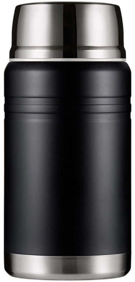 Термос для еды Woodsurf Lunch Spot, цвет: черный, 750 млLSVJ750-01Большой пластиковый термос для еды LUNCH SPOT имеет вместительную внутреннюю колбу из стали AISI 304. В комплект входит маленькая складная ложка. Она помещается во внутренней части крышки. Может использоваться для транспортировки и хранения горячих и холодных блюд, в том числе. мороженого. Все прокладки выполнены из высокотемпературного пищевого силикона. Крышка нетоксична, поскольку изготовлена из пищевого пластика BPA FREE. В условиях помещения с температурой +23 по Цельсию вода, нагретая до 97 градусов, за 2 часа остынет до 72 градусов, за 6 часов - до 54.Характеристики:- высота: 115 мм- ширина: 235 мм- объем: 750 мл- вес: 0,606 кг- размеры в упаковке: 11,7 х 23,6 х 11,7 см - упаковка: гофрированный картон.