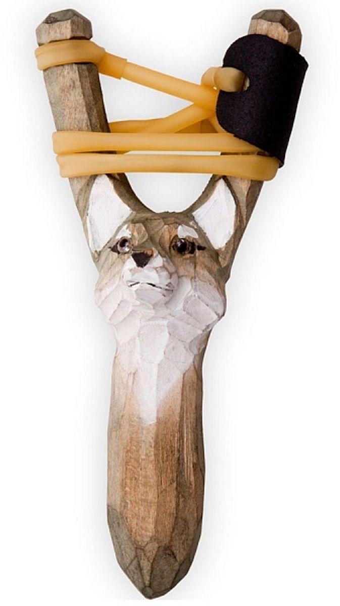 Рогатка офисная Woodsurf  Волк , цвет: серый - Стрелковый спорт