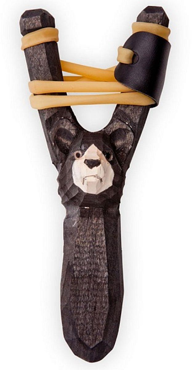 Рогатка офисная Woodsurf  Медведь , цвет: черный - Стрелковый спорт