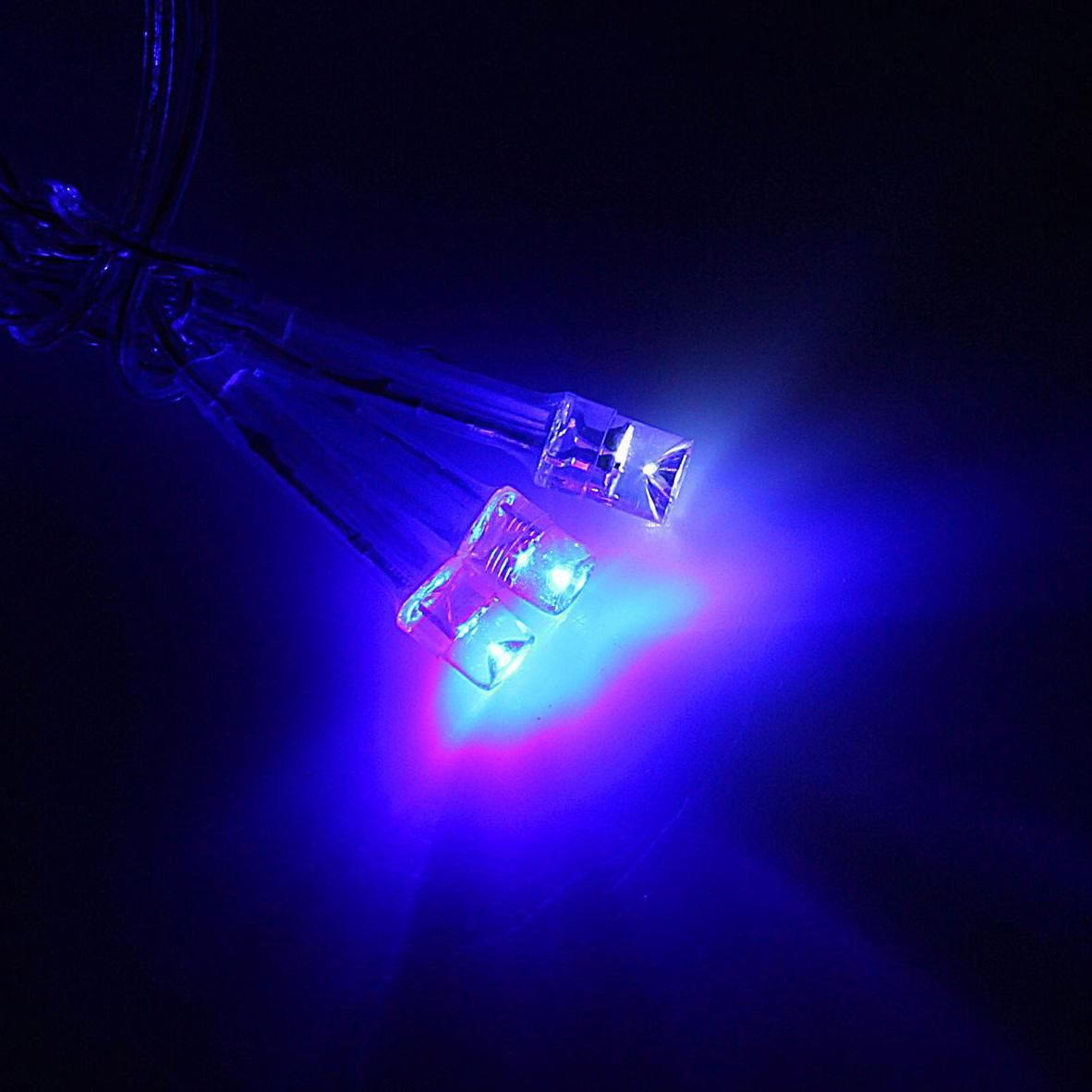 Гирлянда светодиодная Luazon Бахрома, эффект мерцания, 60 ламп, 220 V, цвет: синий, белый, 1,2 х 0,6 м. 10804091080409Светодиодные гирлянды, ленты и т.д — это отличный вариант для новогоднего оформления интерьера или фасада. С их помощью помещение любого размера можно превратить в праздничный зал, а внешние элементы зданий, украшенные ими, мгновенно станут напоминать очертания сказочного дворца. Такие украшения создают ауру предвкушения чуда. Деревья, фасады, витрины, окна и арки будто специально созданы, чтобы вы украсили их светящимися нитями.