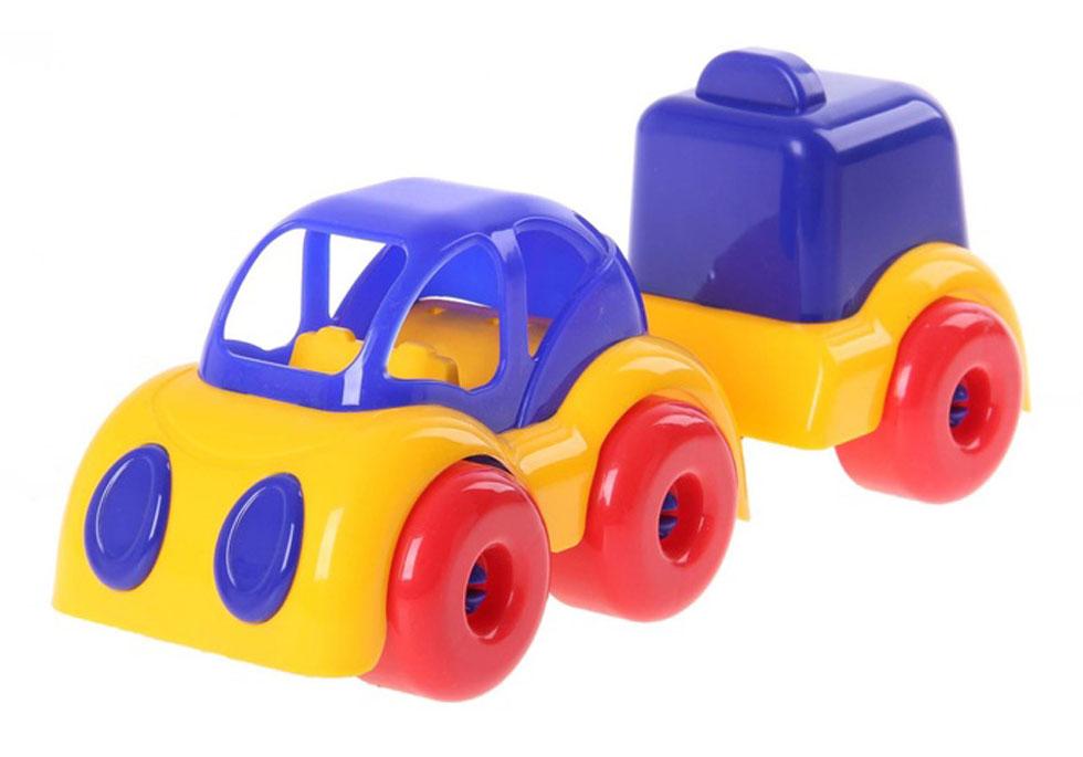 Пластмастер Машина МалышОК с фургоном магазин девочки и мальчики