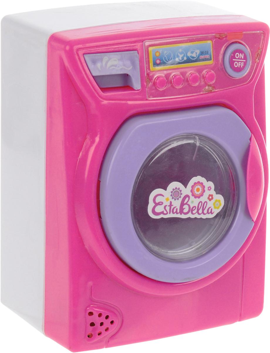 EstaBella Игровой набор Бытовая техника Стиральная машина цвет розовый стиральная настенная машина цена