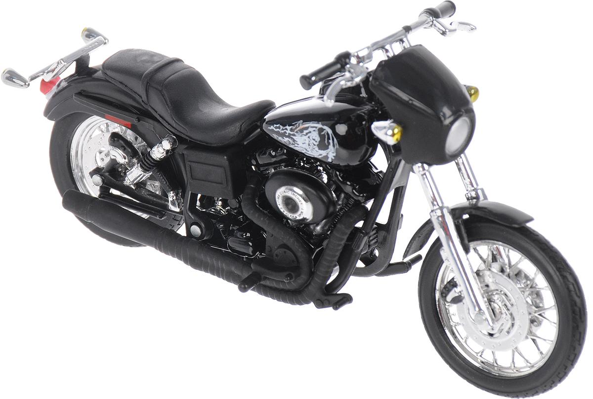 Maisto Мотоцикл 2003 Harley-Davidson Jax 35024 maisto 1952 citroen 15cv 6 cyl 1 18 scale car model alloy toys diecasts