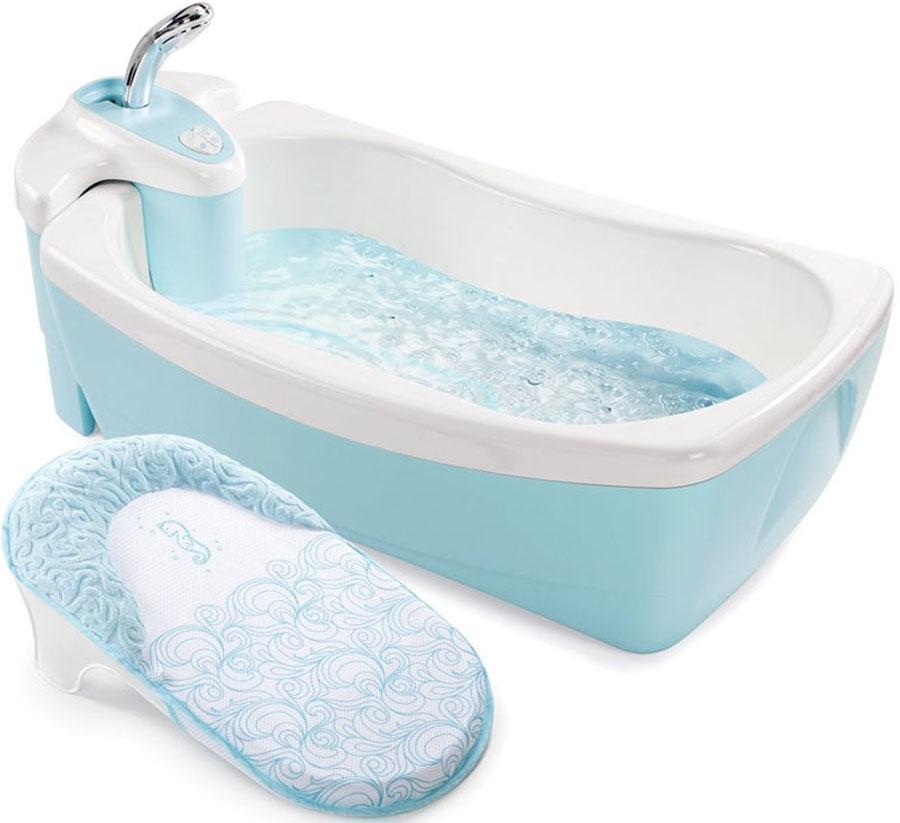 Summer Infant Детская ванна с душевым краником Lil'Luxuries цвет голубой
