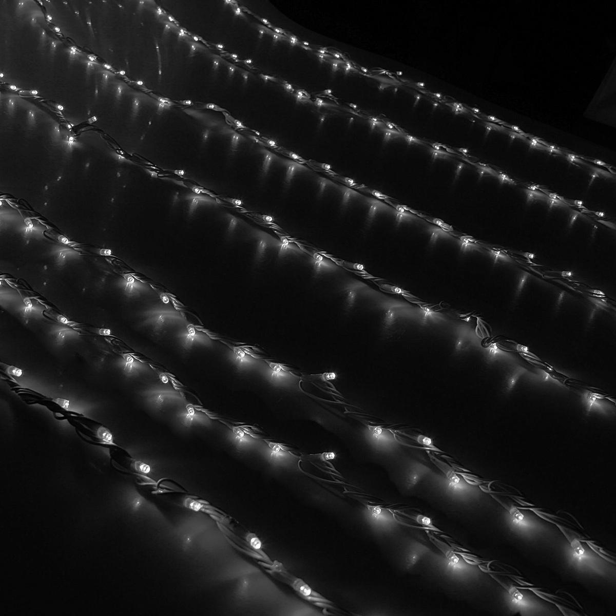 Гирлянда светодиодная Luazon Дождь, уличная, 1500 ламп, 220 V, цвет: белый, 2 х 6 м. 10802071080207Светодиодные гирлянды, ленты и т.д — это отличный вариант для новогоднего оформления интерьера или фасада. С их помощью помещение любого размера можно превратить в праздничный зал, а внешние элементы зданий, украшенные ими, мгновенно станут напоминать очертания сказочного дворца. Такие украшения создают ауру предвкушения чуда. Деревья, фасады, витрины, окна и арки будто специально созданы, чтобы вы украсили их светящимися нитями.