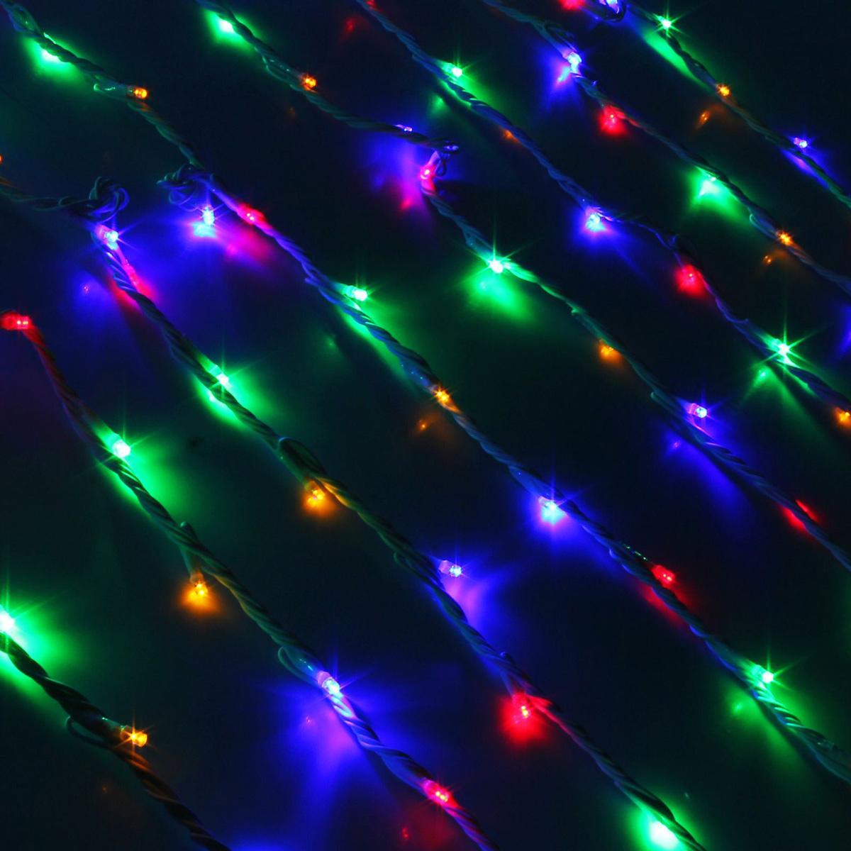 Гирлянда светодиодная Luazon Дождь, уличная, 1500 ламп, 220 V, цвет: мультиколор, 2 х 6 м. 10802062361734Светодиодные гирлянды, ленты и т.д — это отличный вариант для новогоднего оформления интерьера или фасада. С их помощью помещение любого размера можно превратить в праздничный зал, а внешние элементы зданий, украшенные ими, мгновенно станут напоминать очертания сказочного дворца. Такие украшения создают ауру предвкушения чуда. Деревья, фасады, витрины, окна и арки будто специально созданы, чтобы вы украсили их светящимися нитями.