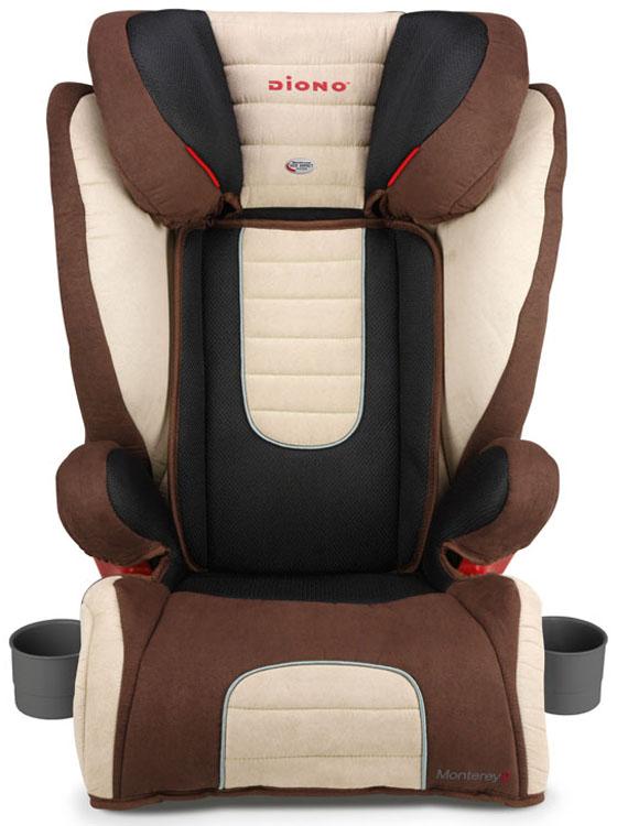 Diono Детское автокресло Monterey 2 от 15 до 36 кг цвет бежевый, коричневый -  Автокресла и аксессуары