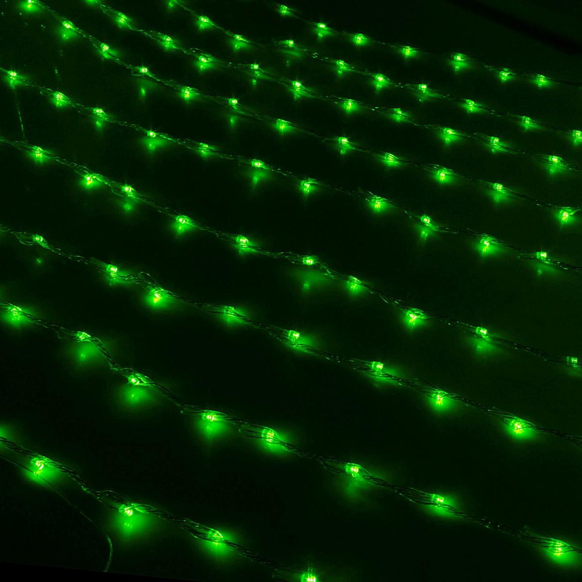 Гирлянда светодиодная Luazon Дождь, уличная, 8 режимов, 1500 ламп, 220 V, цвет: зеленый, 2 х 6 м. 187306187306Светодиодные гирлянды, ленты и т.д — это отличный вариант для новогоднего оформления интерьера или фасада. С их помощью помещение любого размера можно превратить в праздничный зал, а внешние элементы зданий, украшенные ими, мгновенно станут напоминать очертания сказочного дворца. Такие украшения создают ауру предвкушения чуда. Деревья, фасады, витрины, окна и арки будто специально созданы, чтобы вы украсили их светящимися нитями.