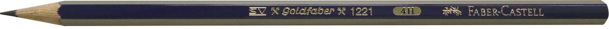 Faber-Castell Карандаш чернографитный Goldfaber 1221 4H112514Чернографитовый карандашGoldfaber 1221, • шестигранный карандаш очень хорошегокачества• 12 степеней твердости грифеля• привлекательный дизайн – синие и золотыеполоски, качественная мягкая древесина для хорошегозатачивания• специальная SV технология вклеиванияпредотвращает поломку грифеля при падении• покрыты лаком на водной основе, твердость 4H