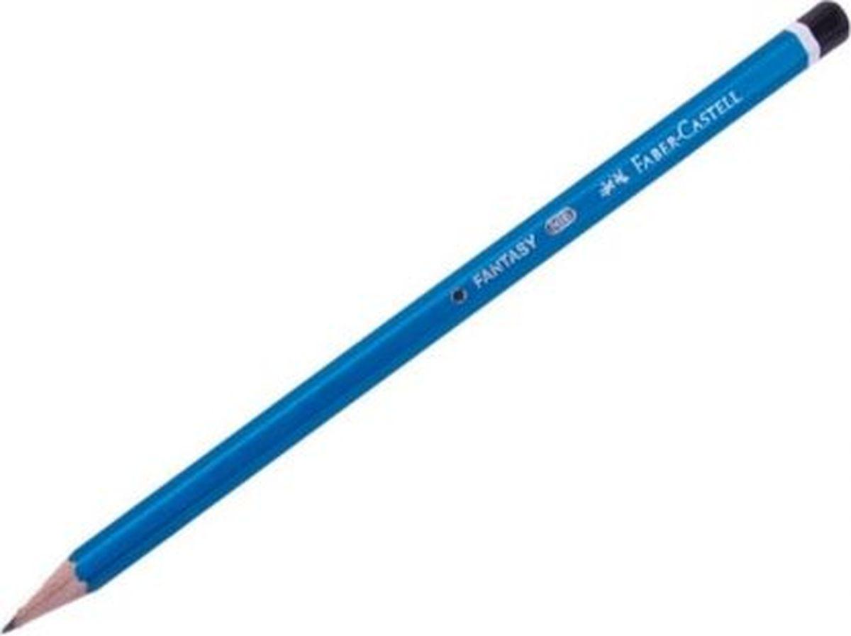 Faber-Castell Карандаш чернографитный Fantasy цвет синий116303Чернографитовый карандаш Fantasy.шестигранная форма • яркие синий цвет корпуса • твердость HB • легкое затачивание • специальная технология вклеивания (SV) предотвращает поломку грифеля