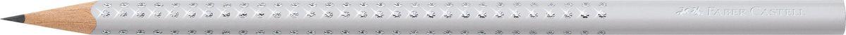 Faber-Castell Карандаш чернографитный Sparkle Spring цвет серый118301Faber-Castell Sparkle Spring - чернографитный карандаш эргономичной трехгранной формы. Запатентованная Grip антискользящая зоназахвата с массажной поверхностью. Уникальный дизайн с эффектом жемчужин. Грифель идеален для рисования и тренировки письма.Качественная древесина - гарантия легкого затачивания при помощи стандартных точилок.